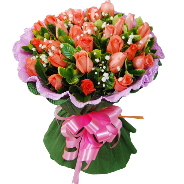 send 29 pink roses to