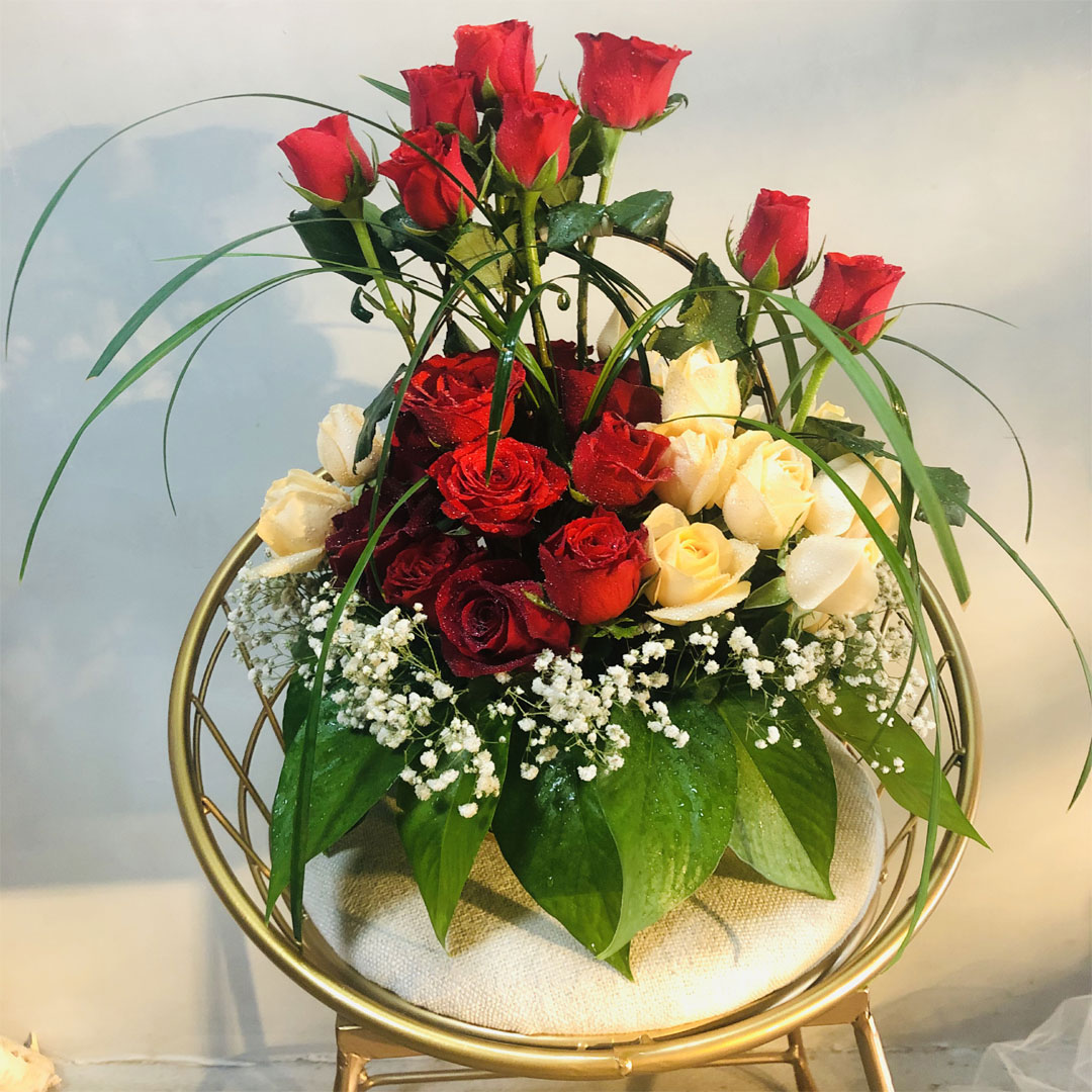 send Birthday Flower Basket to shanghai