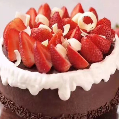 send strawberry chocolate cake to shanghai
