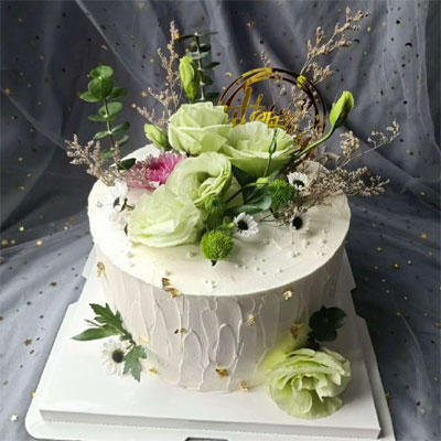 send flower cake in city to shanghai