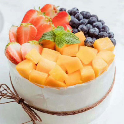 send fruit cake to city to tianjin