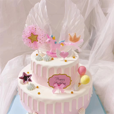 send unicorn cake to tianjin
