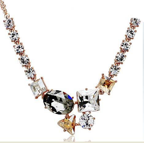 send crystal Necklace to shenzhen