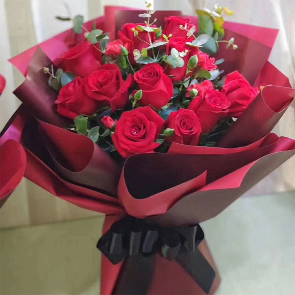 send 11 red roses to shanghai