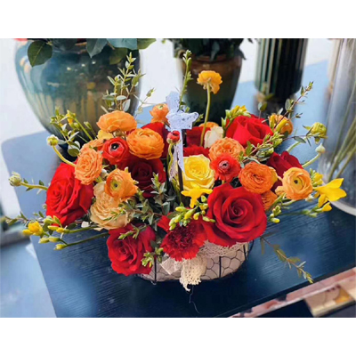 send birthday flower basket to chengdu