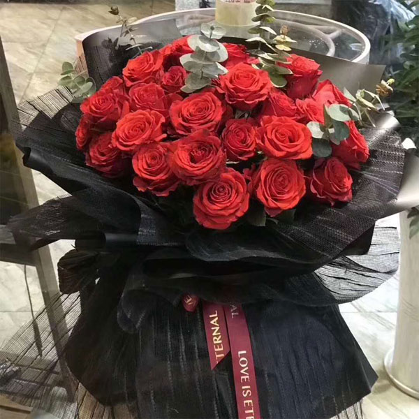 send 33 red roses to shanghai