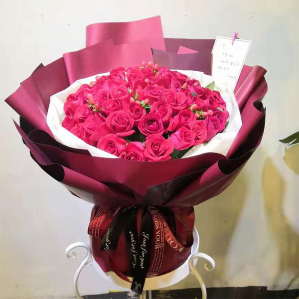 send 66 red roses to beijing