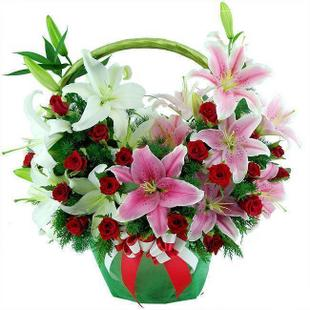 send flowersBasket china to china