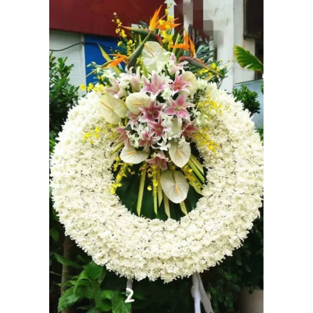 send sympathy wreath to shanghai