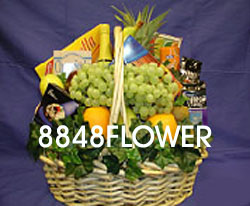 send festal basket to china