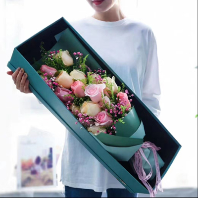 send mix color roses to china